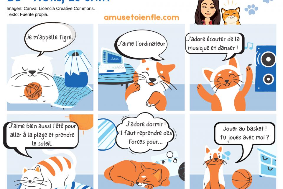"BD ""Tigre, le chat"""